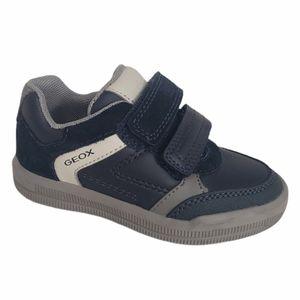 Geox Respira Navy Blue Italian Toddler Sneaker